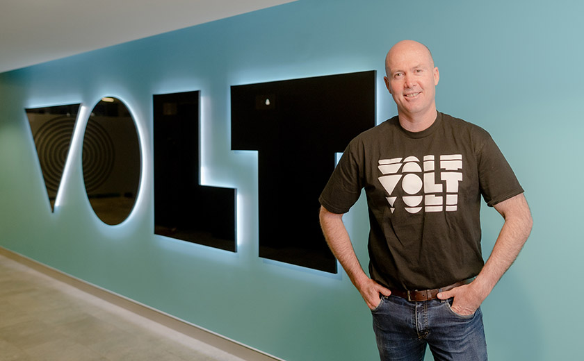 Volt CEO Steve Weston